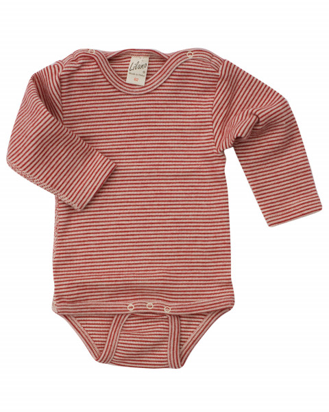 Lilano, Baby Body aufgerauht, 70% Wolle, 30% Seide