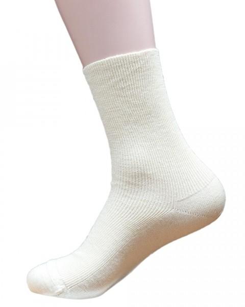 Venen Komfort Socken, Hirsch Natur, Wolle & Baumwolle, 2 Farben