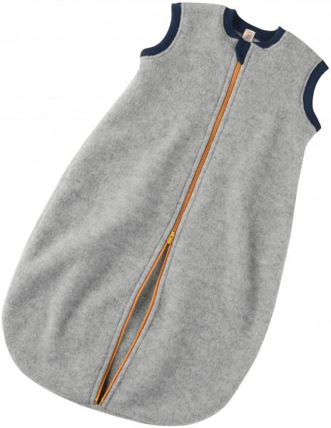 Engel Natur, Baby-Schlafsack aus Wollfleece ohne Ärmel, 100% Wolle (kbT)