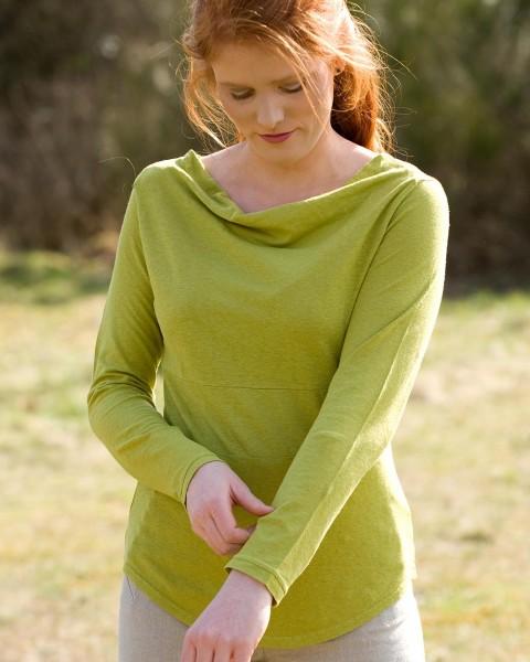 """Damen Shirt """"Rhianna"""", HempAge, Hanf & Baumwolle, 2 Farben"""