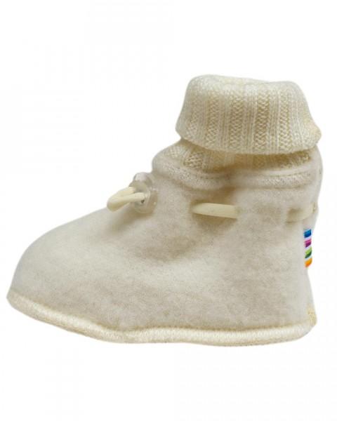 Baby Schuhe Fleece, Joha, 100% Wolle, 2 Farben