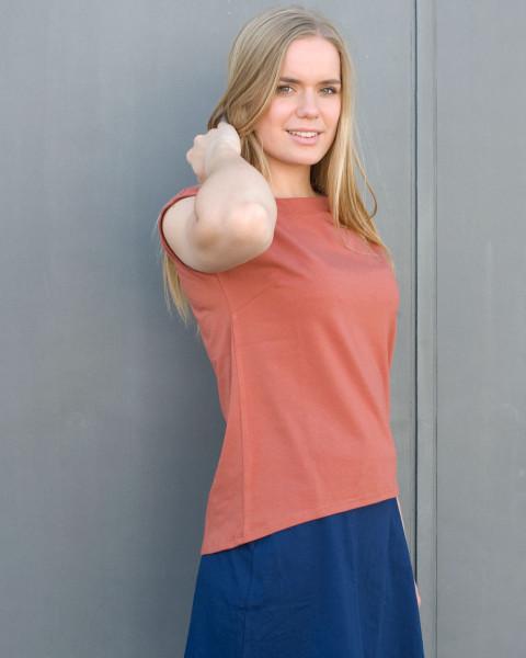 Albero, Wellness / Sport Shirt, 95% Baumwolle (kbA), 5% Elasthan