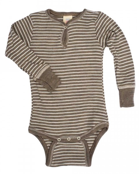 Baby Body-Shirt, Engel Natur, Wolle Seide