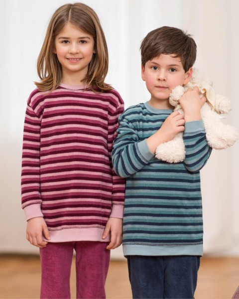 Kinder Schlafanzug Frottee, 100% Baumwolle (kbA)