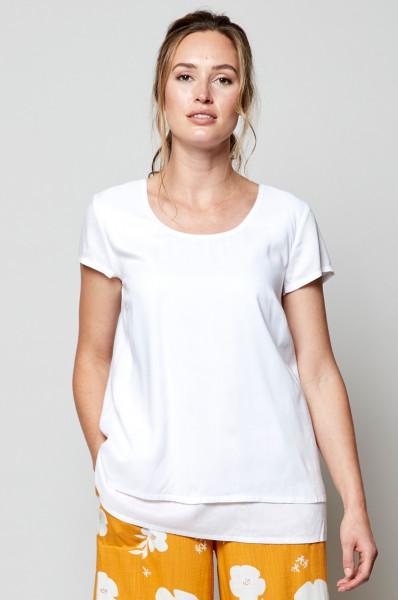 Nomads, Doppellagiges T-Shirt, 100% Viskose