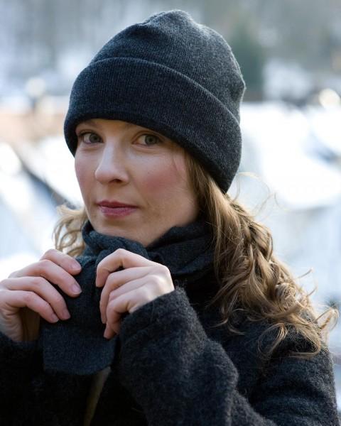 Damen Klassische Mütze, Ganterie, Wolle mit Baumwollfutter, 5 Farben