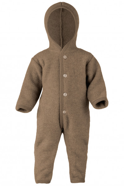 Baby Fleece Overall, Engel Natur, 100% Wolle (kbT), 8 Farben