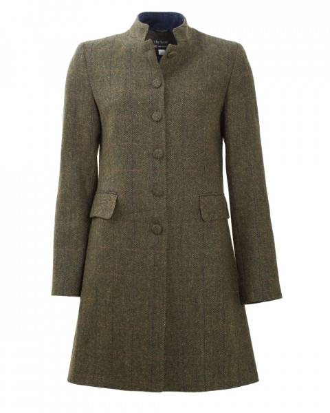 Damen Kurzmantel, 100% Wolle