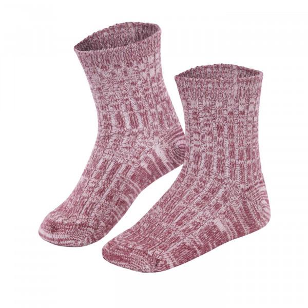 LivingCrafts, Kinder Socken, Wolle und Baumwolle, 2 Farben