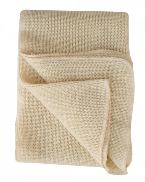 Lilano, Dicke Baby Decke, 100% Wolle (kbT), 90x85 cm