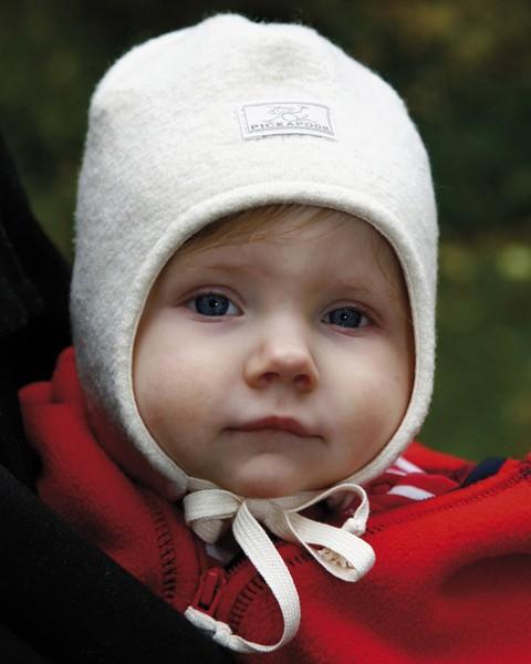 Ausverkauf: Pickapooh Mütze Jack, 100% Wollwalk mit BW-Futter