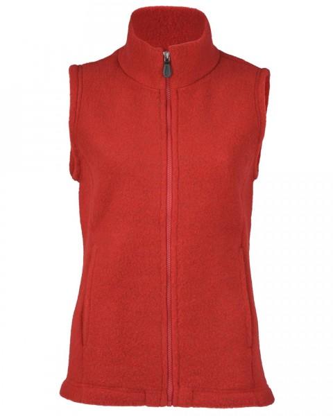 Damen Fleece Weste, Engel Natur, 100% Wolle (kbT), 4 Farben