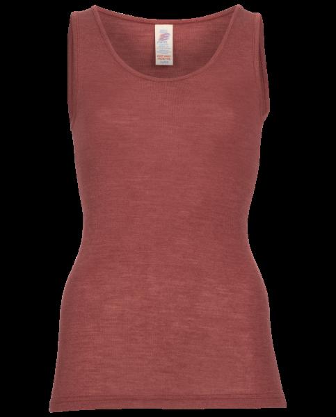 Damen Trägerhemd, Engel Natur, 70% Wolle, 30% Seide