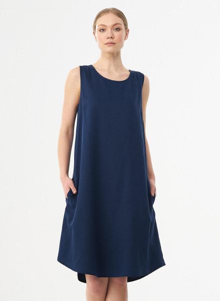 Organication, Ärmelloses Kleid mit Taschen, 100% Lyocell (TENCEL™)