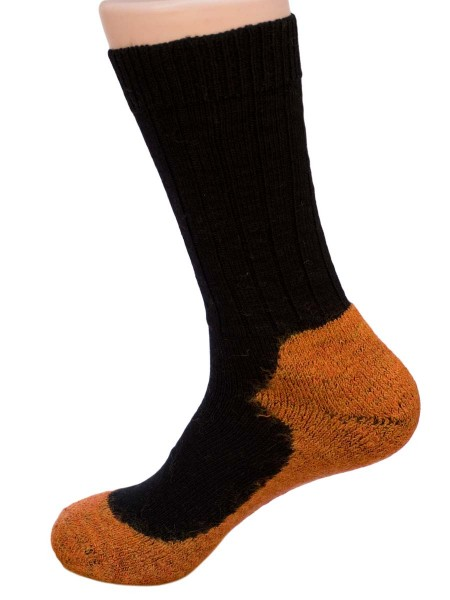 Sport Socken, Hirsch Natur, Wolle, maschinenwaschbar