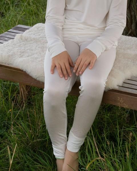 Kinder Leggings, Alkena, 100% Seide (kbT)