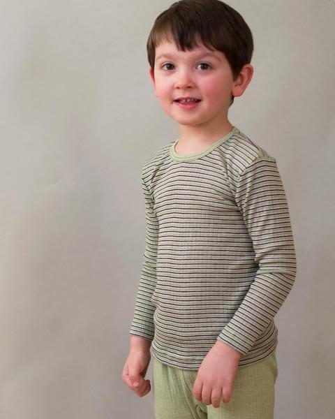 Cosilana, Unterhemd langarm, Baumwolle Wolle Seide, 9 Farben
