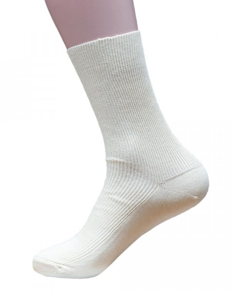 Premium Basic Socken, Hirsch Natur, 100% Baumwolle (kbA), 2 Farben