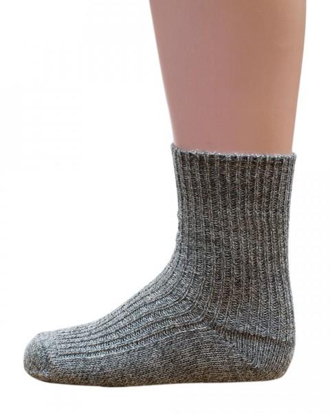 Kinder Socken, Hirsch Natur, 100% Wolle (kbT), 3 Farben