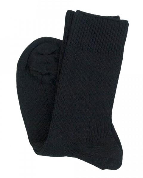 Socken mit Komfortbündchen, Hirsch Natur, Baumwolle (kbA)