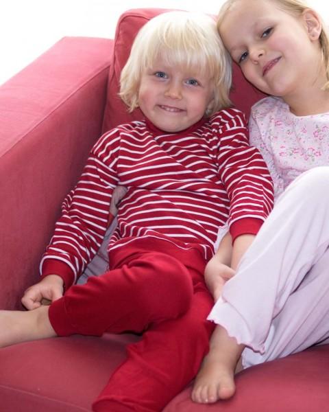 Kinder Schlafanzug, Living Crafts, Baumwolle (kbA), 2 Farben