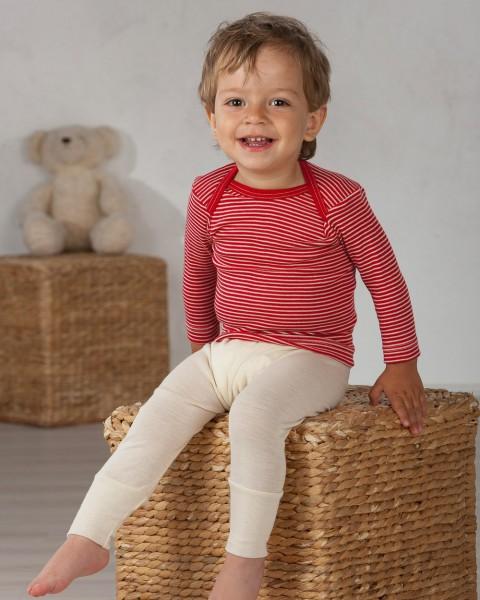 Cosilana, Baby Schlupfhemd langarm, 70% Wolle (kbT), 30% Seide, 13 Farben