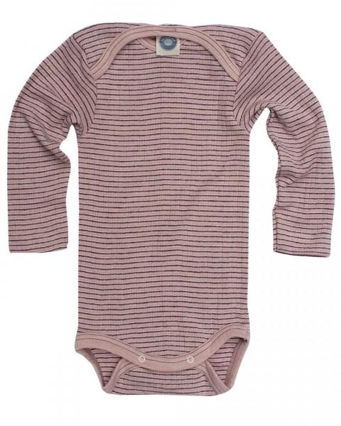 Cosilana, Baby Body langarm, Baumwolle (kbA) Wolle (kbT) Seide, 9 Farben