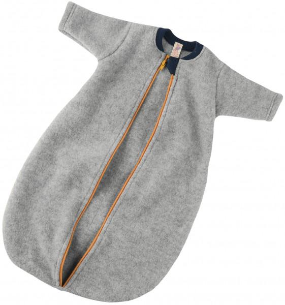 Engel Natur, Baby Fleece-Schlafsack langarm mit Reißverschluß, 100 % Wolle (kbT)