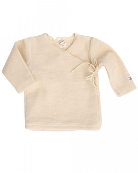 Lilano Baby Wickelshirt, 100 % Wollfrottee (kbT)