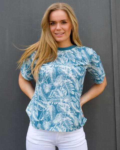 HempAge, Shirt Jungle Print, 55% Hanf, 45% Baumwolle (kbA), (200 gr/m²)
