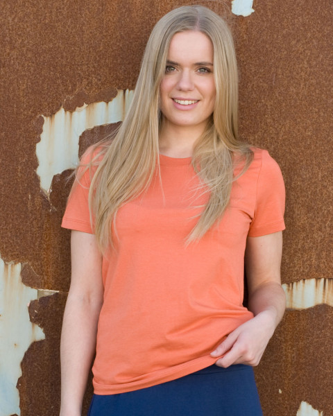 True North, Sportliches Damen T-Shirt, 58% Baumwolle (kbA), 39% Modal, 3% Elasthan