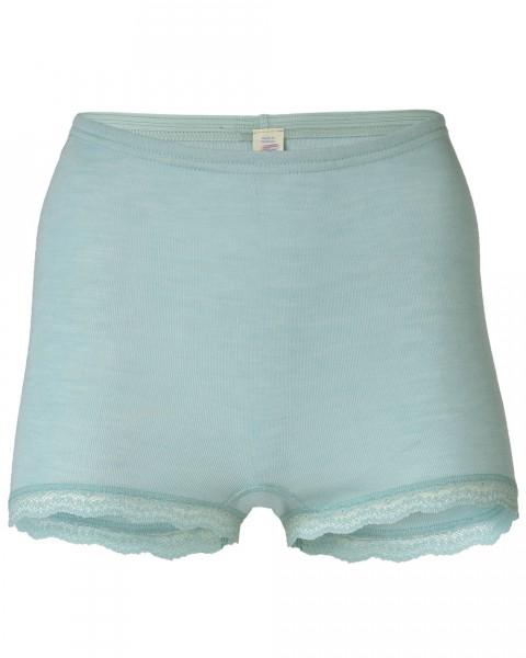 Damen Panty mit Spitze, Engel Natur, Wolle Seide, 2 Farben