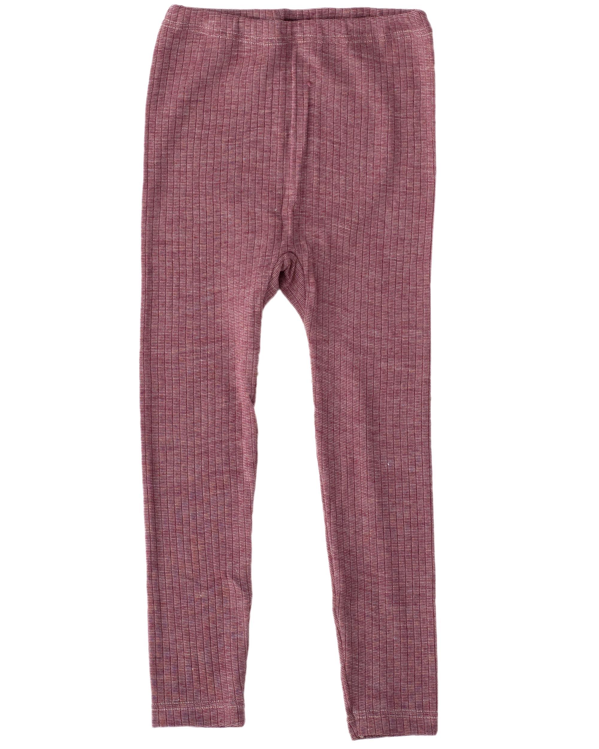 8aa67144e853 Cosilana, Kinder Leggings / lange Unterhose, 45% Baumwolle, 35% Wolle, 20%  Seide