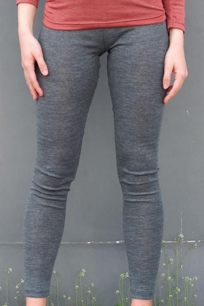 Damen Leggings, Engel Natur, 100% Wolle (kbT)