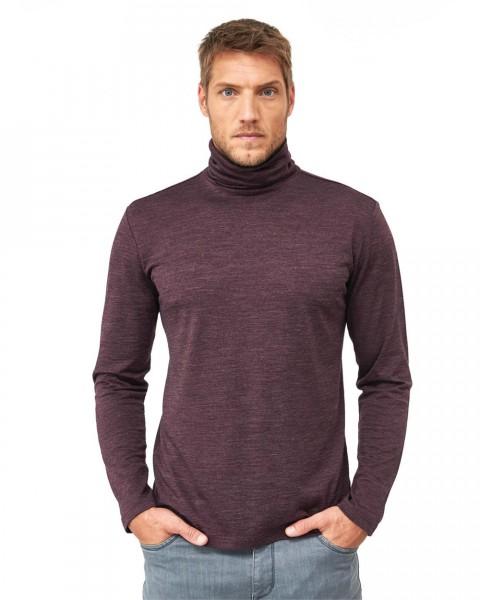 Herren Rollkragen Pullover, 70% Wolle (kbT), 30% Seide