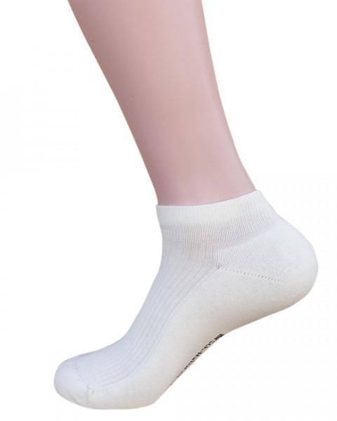 """Hirsch Sports, Frottierte Sneaker / Fitness Socken """"Andrea"""", 98% Baumwolle, 2% Elasthan"""