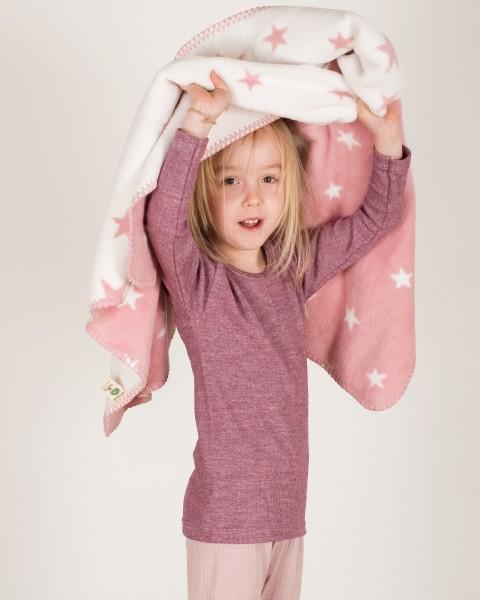 Cosilana, Unterhemd langarm, Baumwolle Wolle Seide, 10 Farben