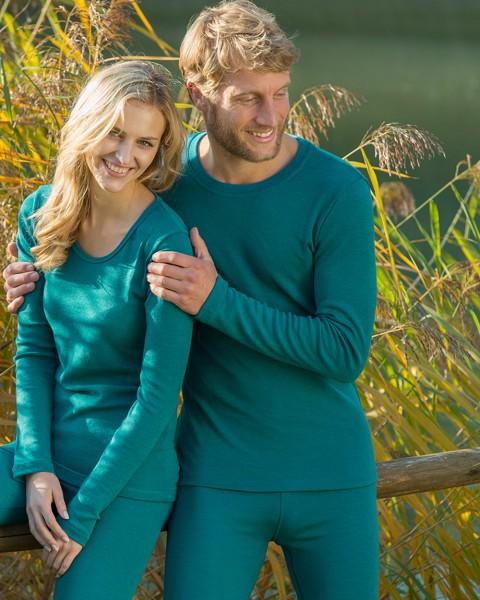 Herren Shirt langarm, Engel Natur, 100% Wolle (kbT)