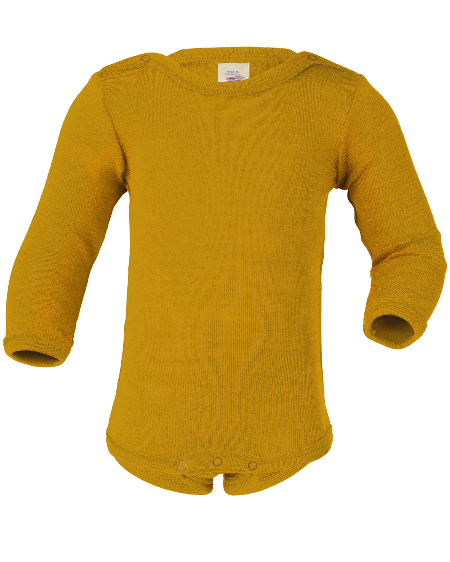 Baby Unterhemd langarm Engel Natur 100/% Wolle Gr 74//80