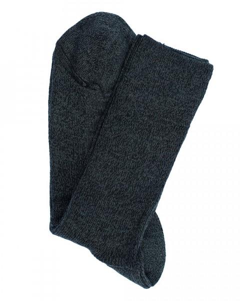 Socken leicht, Hirsch Natur, Wolle & Baumwolle, 2 Farben