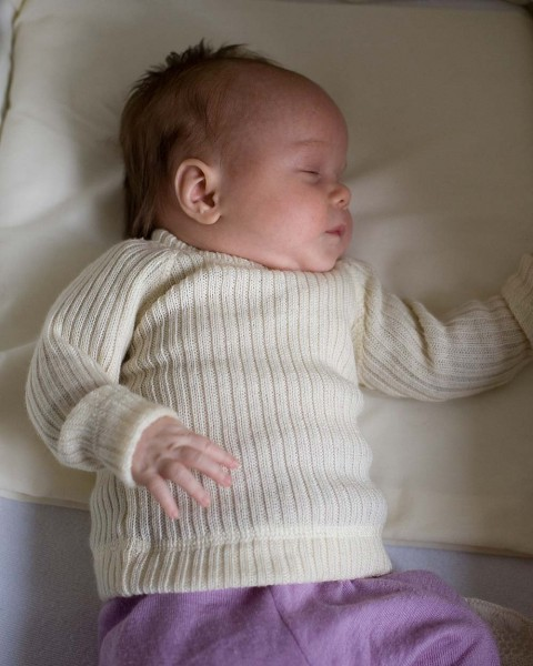 Baby Pullover, Joha, 100% Wolle, 2 Farben