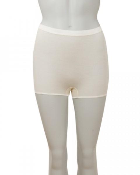 Cosilana Damen Pagen Slip mit elastischem Abschluß, 70 Wolle (kbT) 30 % Seide