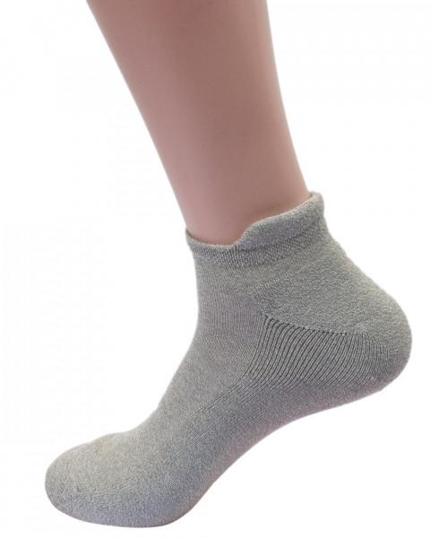 Grödo, Sport Sneaker Socken Frottiert, 98% Baumwolle (kbA), 2% Elasthan