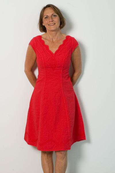 De Meche, Ärmelloses Kleid, 100% Baumwolle (kbA), XL