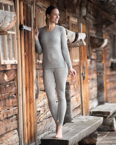Damen Leggings, Wolle Seide, 8 Farben, Engel Natur