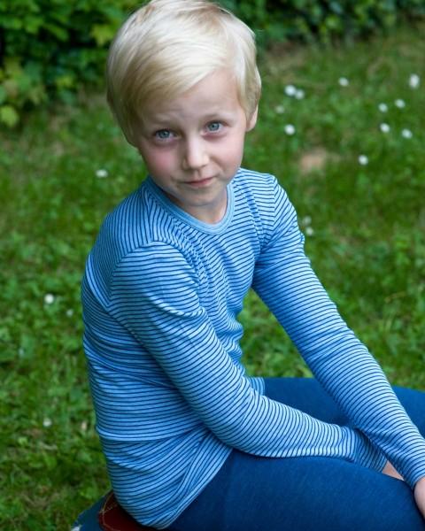 Kinder Unterhemd langarm, Cosilana, 100% Baumwolle (kbA), 2 Farben
