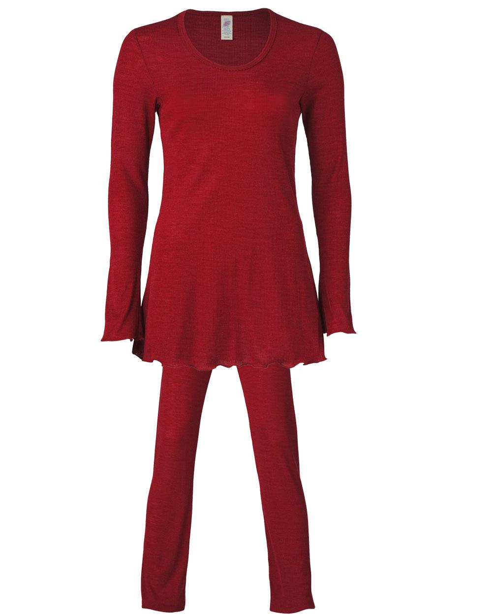 Größe 7 weit verbreitet neu kommen an Damen Pyjama, Engel Natur, Wolle Seide, 2 Farben