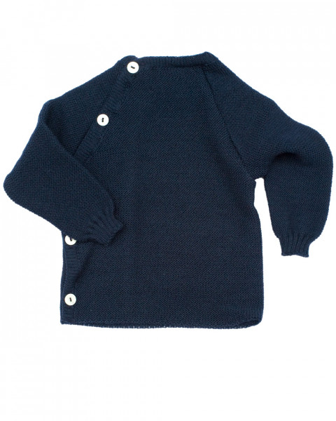 Baby Wickelpulli Uni, Relax, 100% Wolle (kbT)
