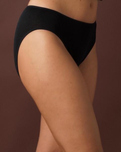 Damen Bikini Slip, Engel Natur, 100% Baumwolle (kbA), 2 Farben