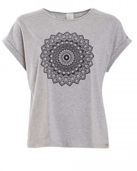 Comazo, Wellness / Yoga Shirt mit Motivdruck, 92% Baumwolle (kbA), 8% Elasthan